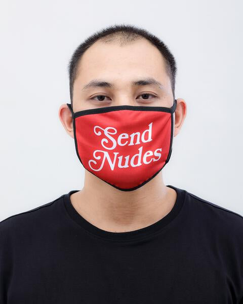 SEND NUDES 2 FACE MASK