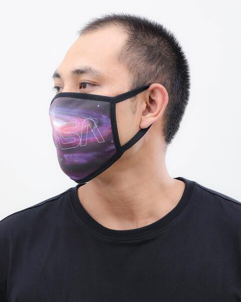 WORM GALAXY FACE MASK