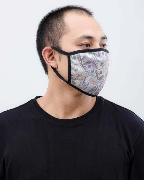 PUT YOUR MONEY FACE MASK
