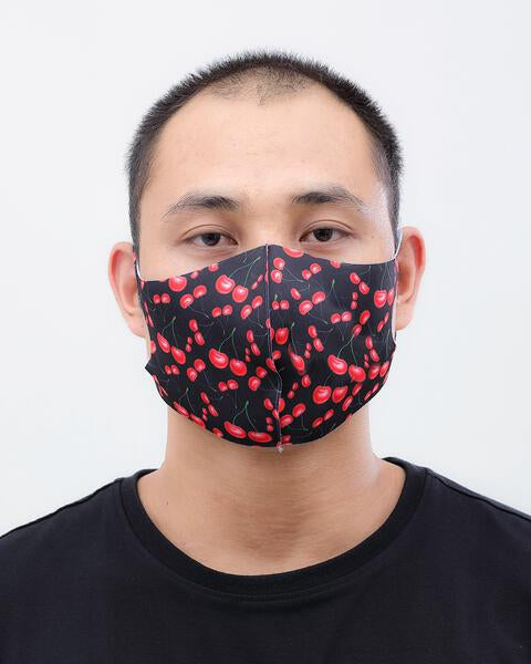 CHERRY RAIN FACE MASK
