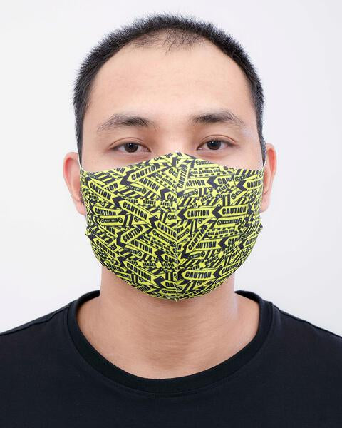 Caution Tape Mask