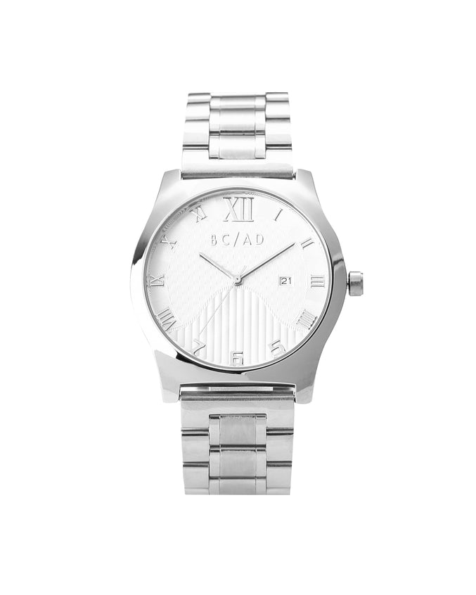 The 0881236 Watch - Color: Silver/White | Silver
