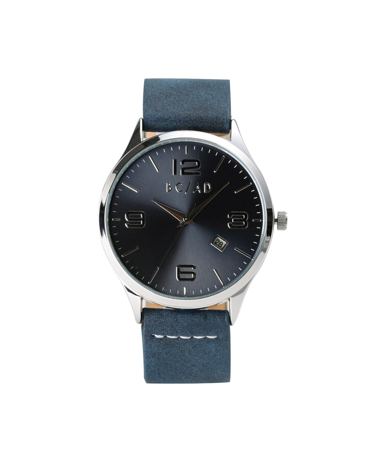The 0881355 Watch - Color: Navy/Cream | Blue