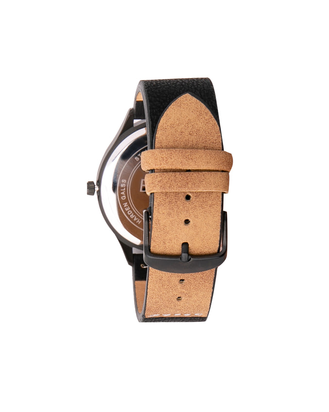 The 0881355 Watch - Color: Black/Tan | Black