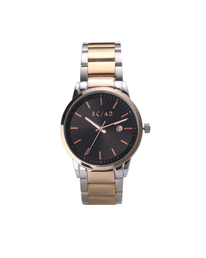 The 088987 Watch - Color: Rose/Black | Gold