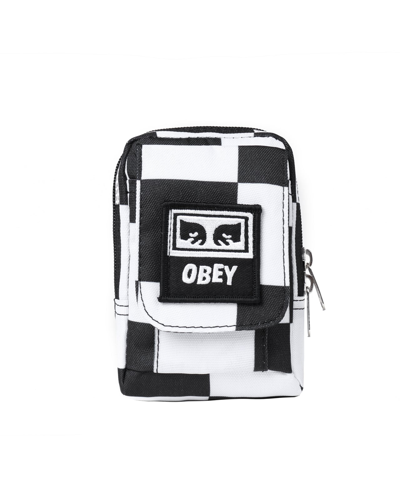 Drop Out Utility Bag - Color: Checker | White