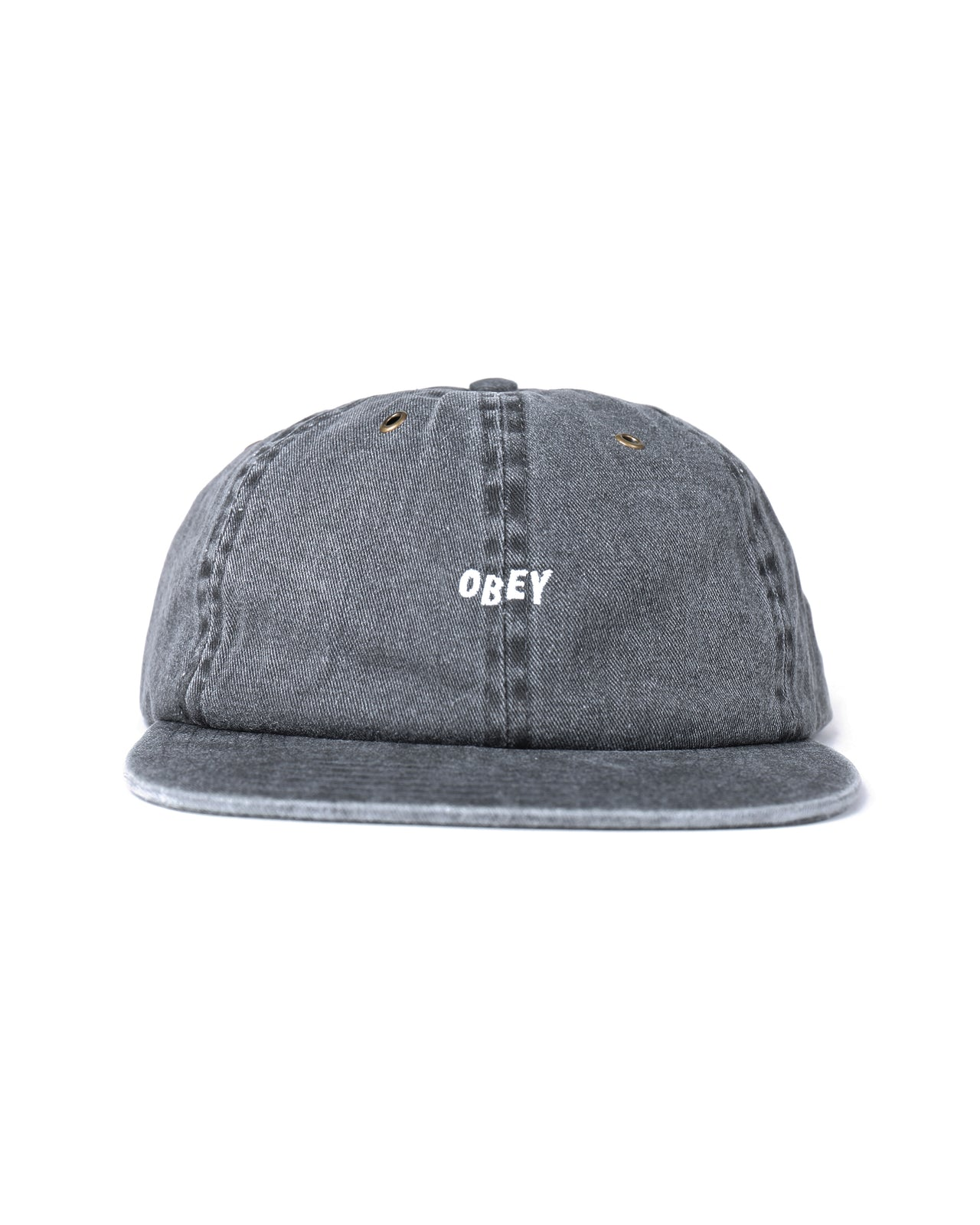 Hadley 6 Panel Hat - Color Black | Black