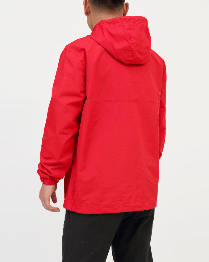 Crosstown II Anorak - Color: Hot red | Red