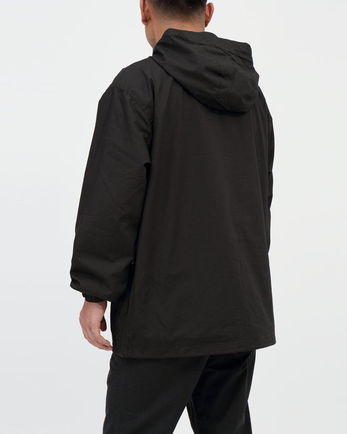 Lock Down Anorak - Color: Black | Black