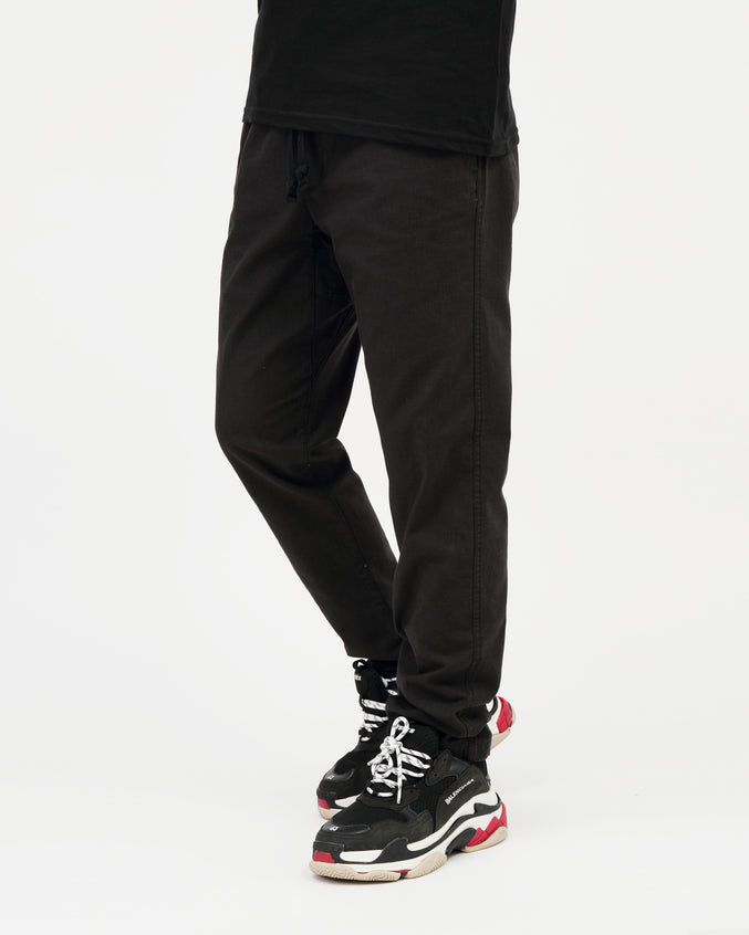 Traveler Slub Twill Pant II - Color: Black | Black