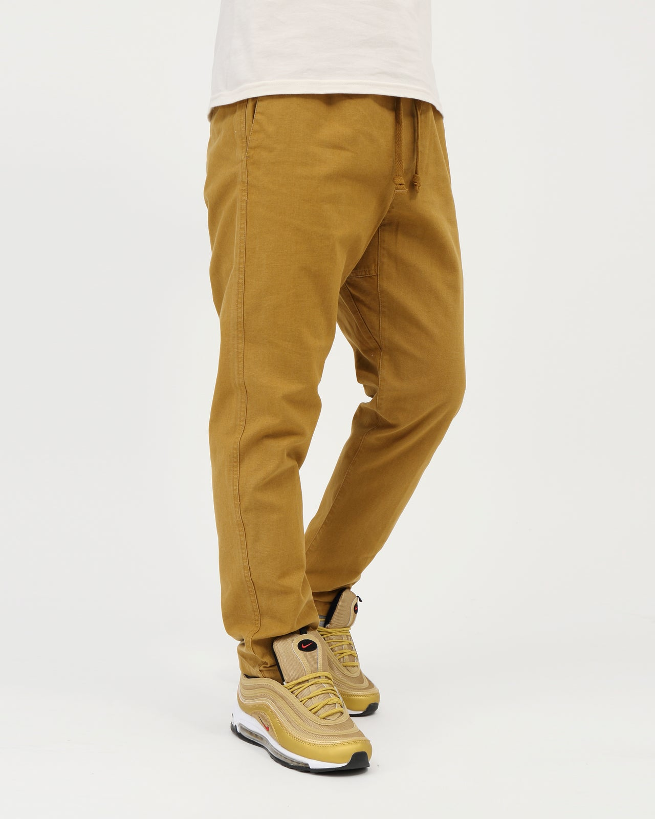 Traveler Slub Twill Pant II - Color: Tapenade | Beige