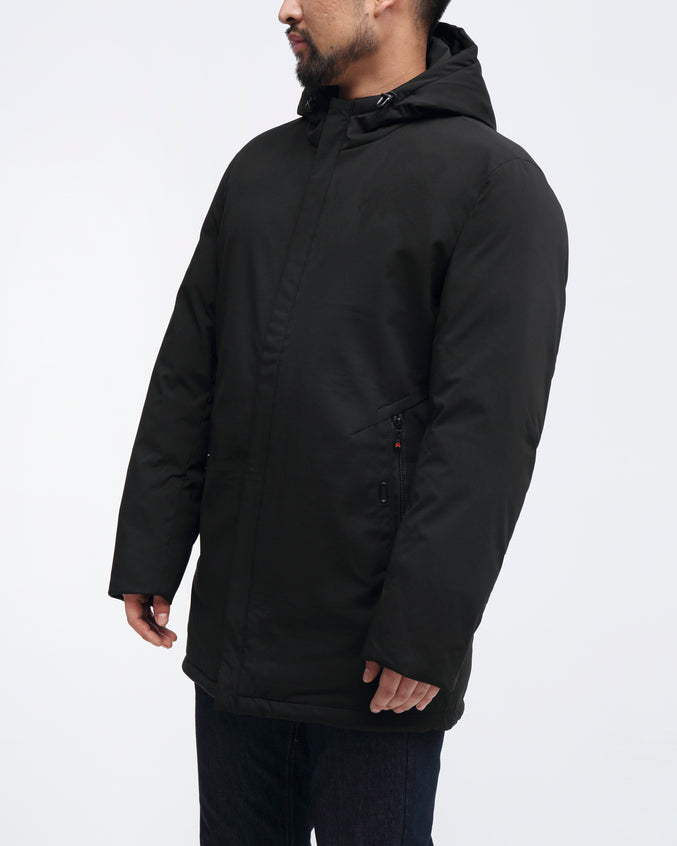 Chevron Parka - Color: Black | Black