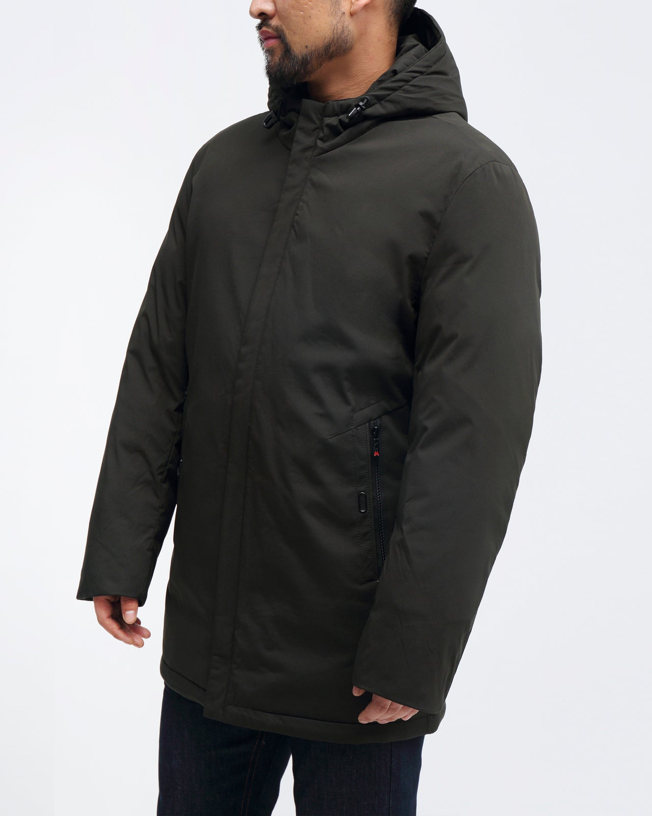 Chevron Parka - Color: Green