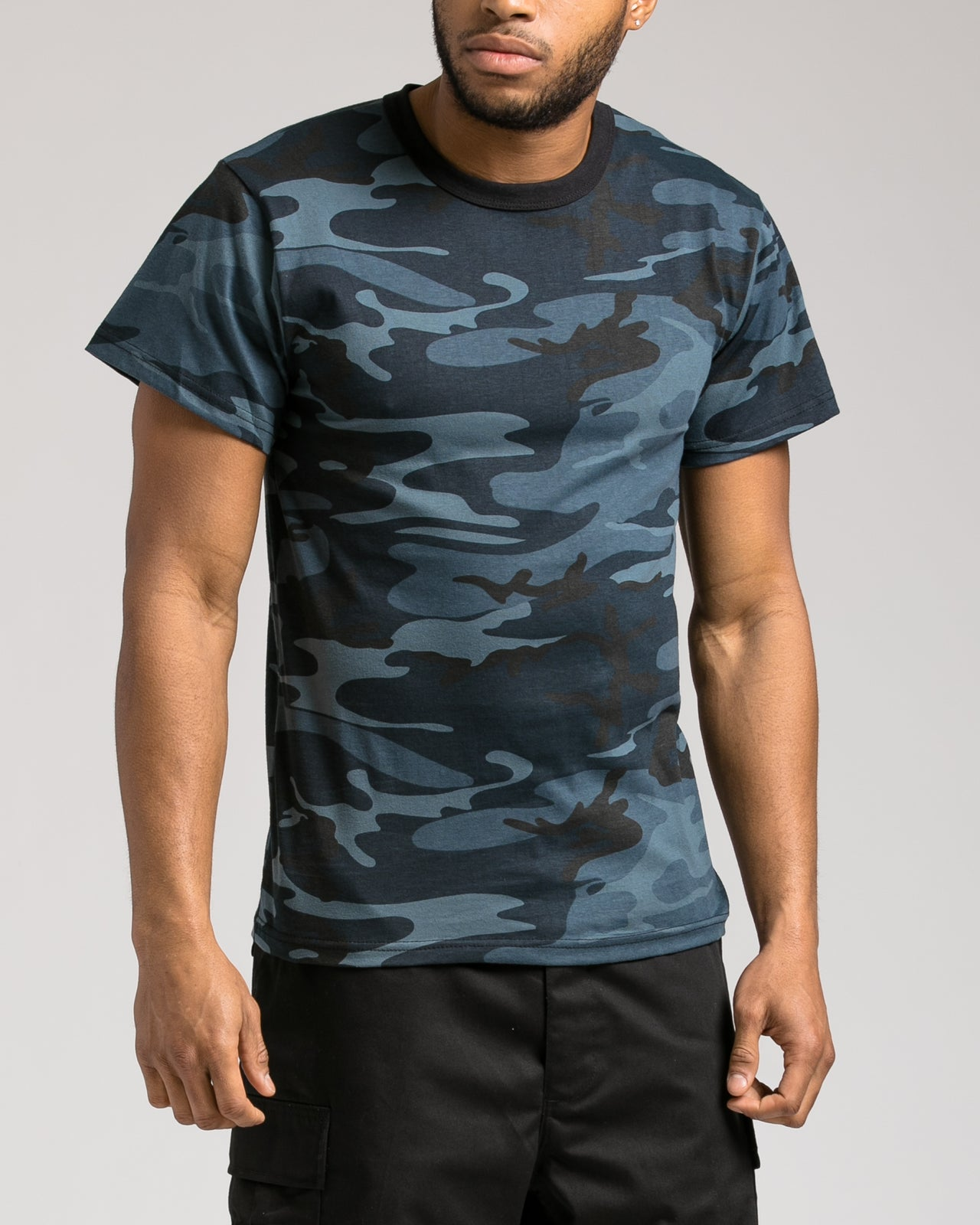 Camo Tee - Color: Midnight Blue Camo | Blue
