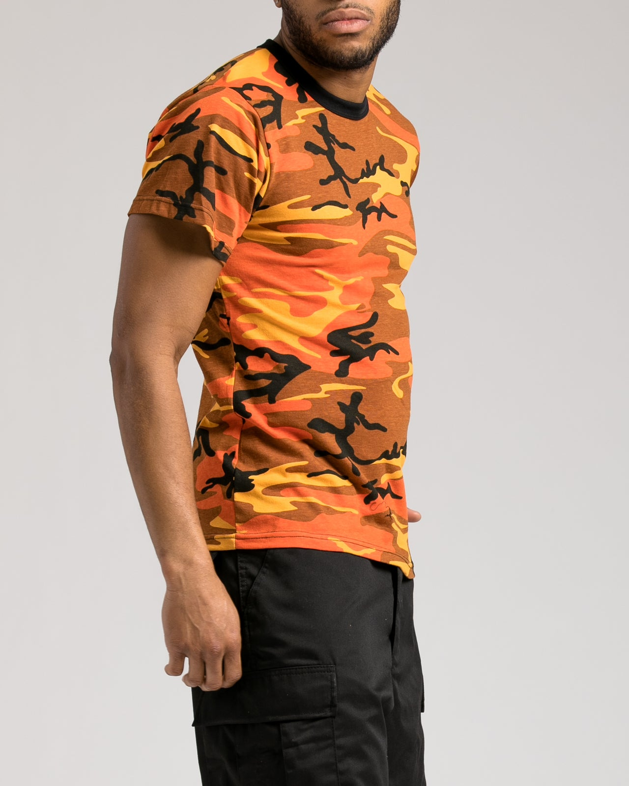 Camo Tee - Color: Savage Orange Camo | Orange
