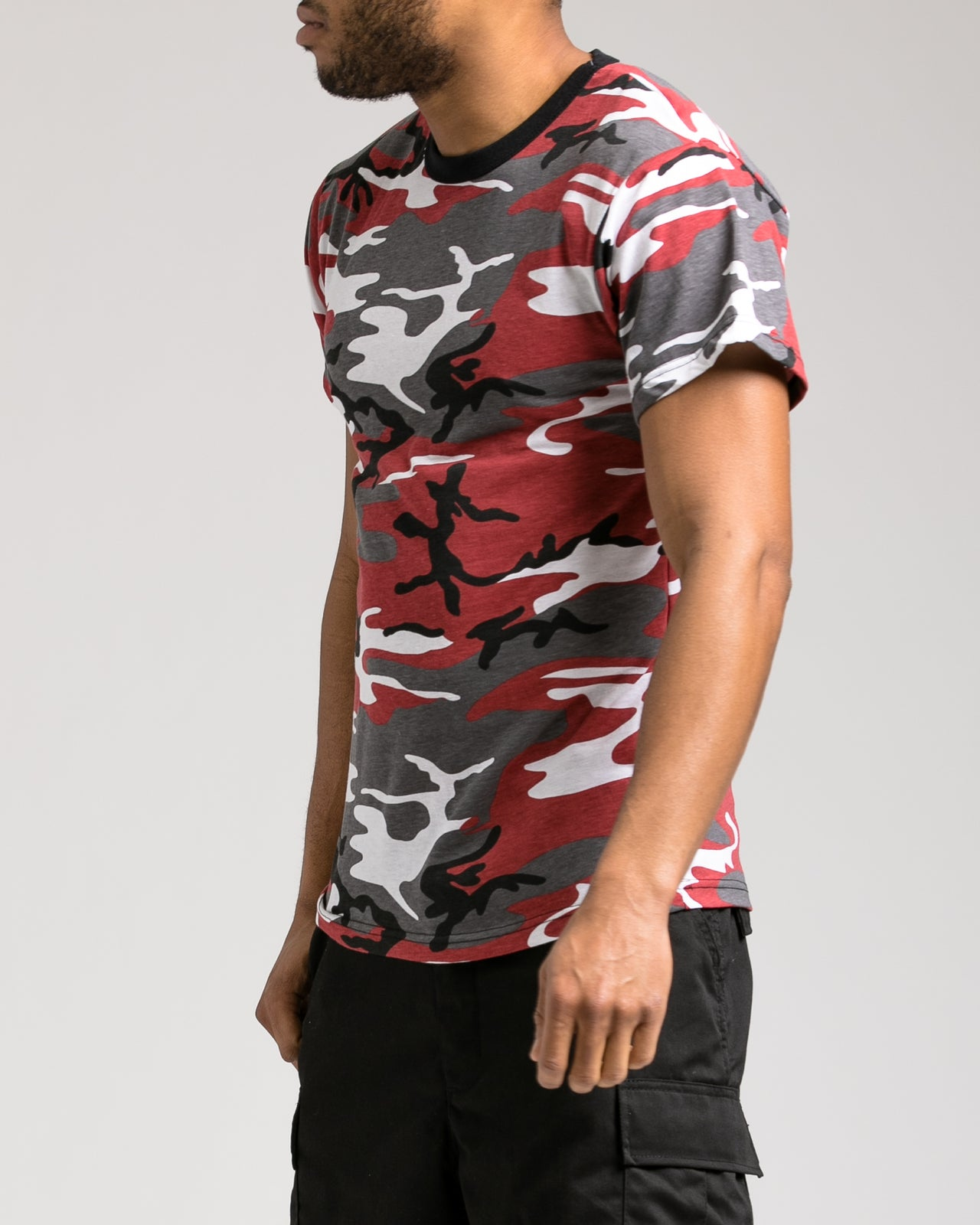 Camo Tee - Color: Red Camo | Red