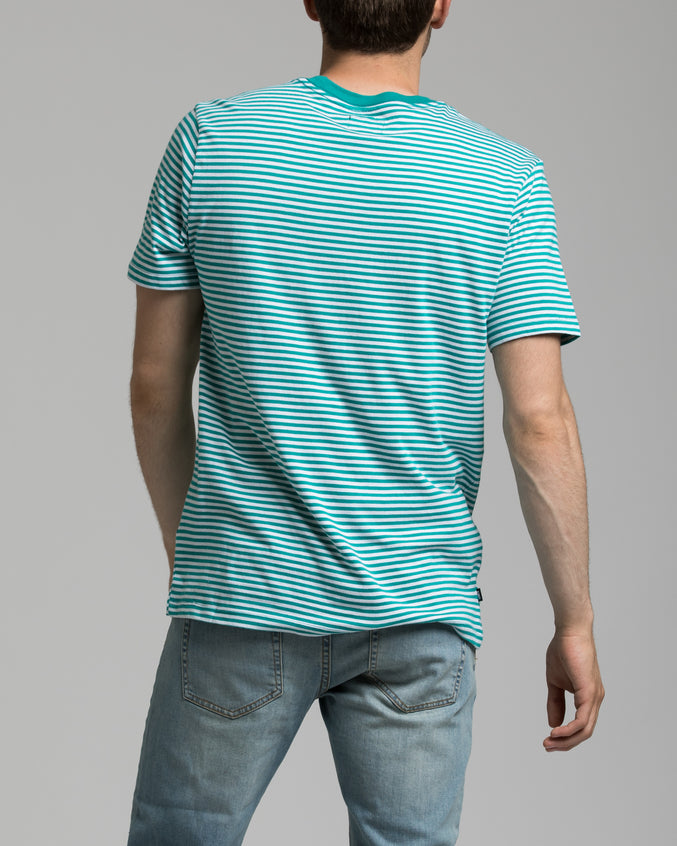 Apex Tee - Color: Teal Multi | Blue