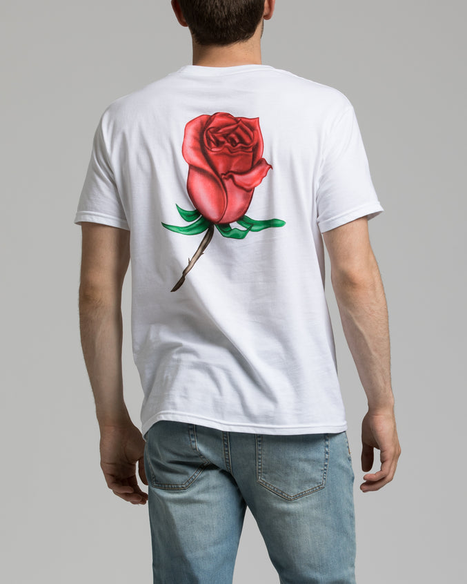 OBEY Airbrushed Rose - Color: White | White