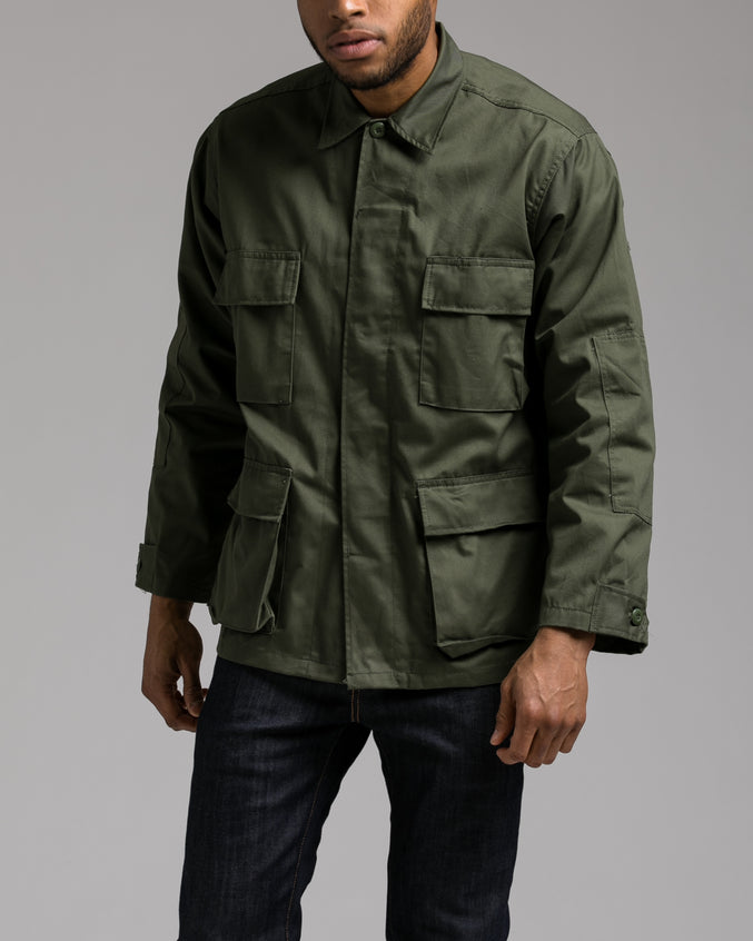 B.D.U. Shirt Jacket - Color: Olive Drab | Green