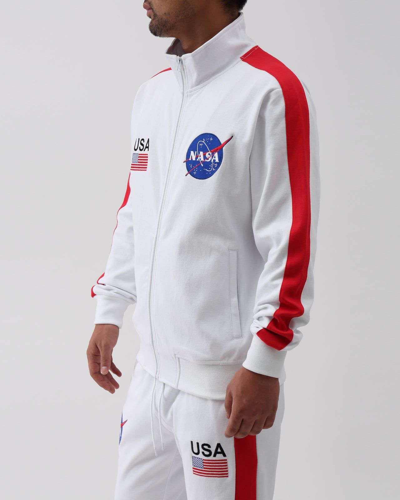 The Meatball Future Classic Track Jacket - Color: White | White