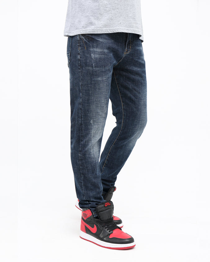 Stretch Vintage Denim - Color: Blue