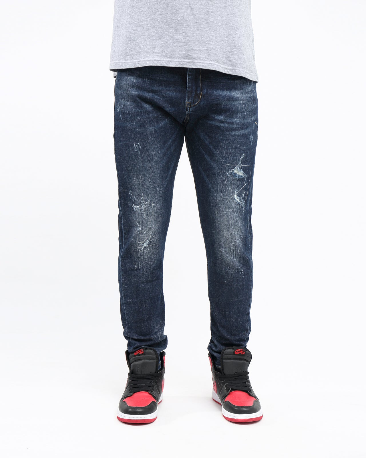 Stretch Splash Vintage Denim - Color: Blue