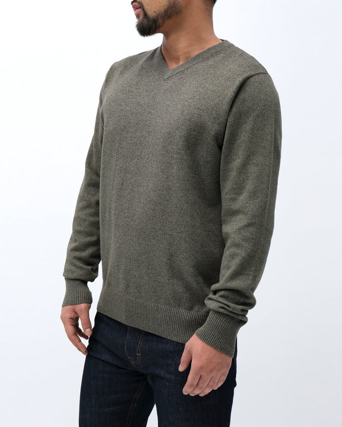 Sweater VNeck - Color: Green