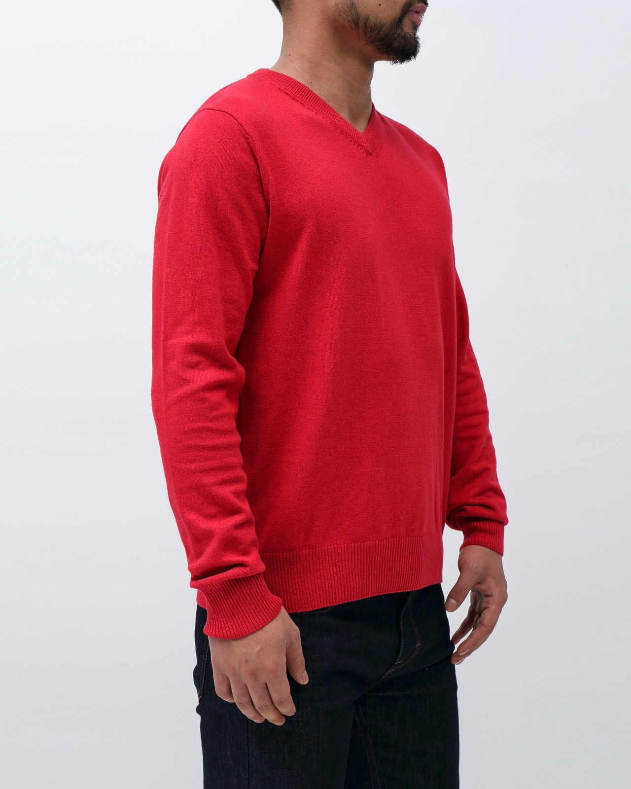 Sweater VNeck - Color: Red