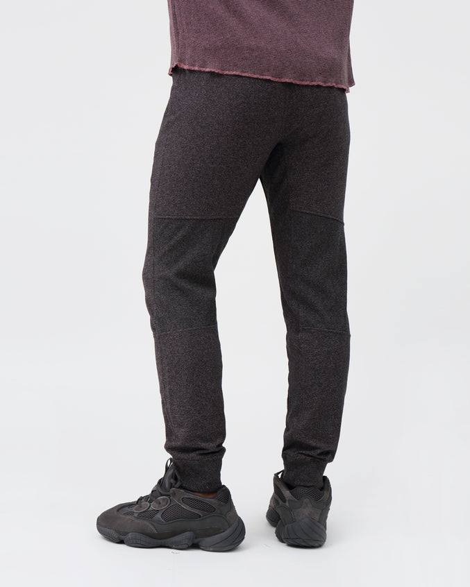 Russell Jogger - Color: Black/Dusty Rose | Purple
