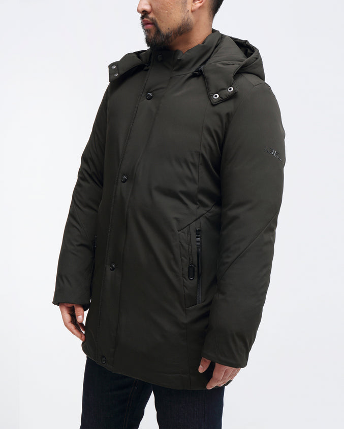 Performance Parka - Color: Green