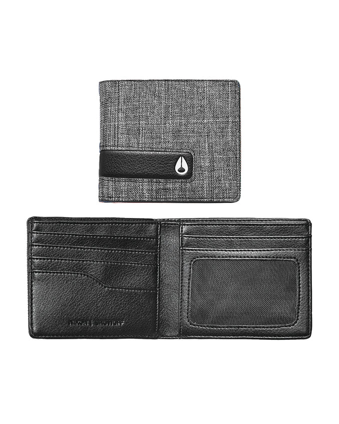 Showoff Bi Fold Wallet - Color: Black Wash | Black