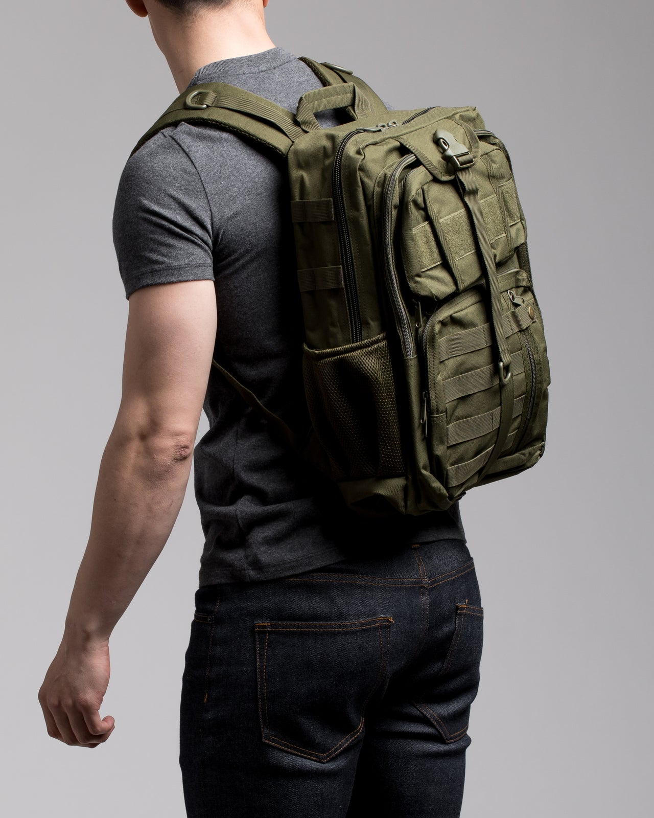 Utility Backpack Plus - Color: Olive | Green