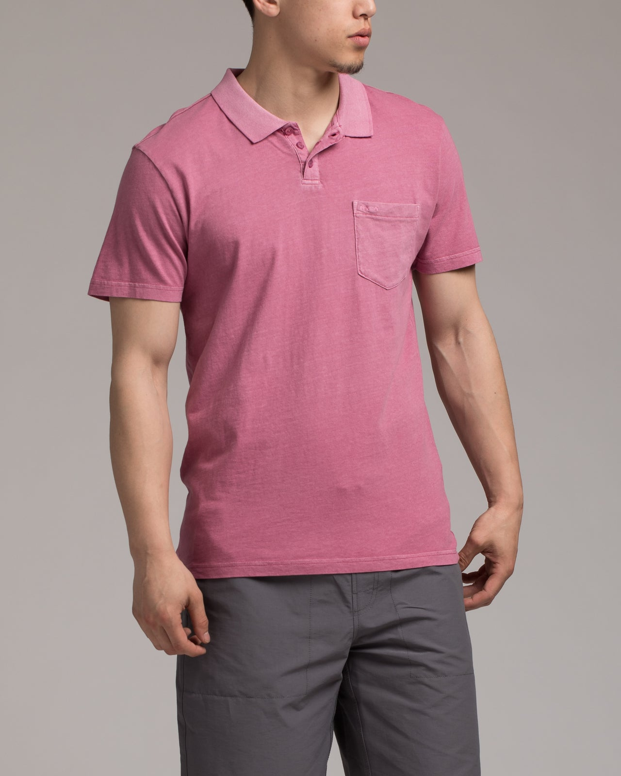PTC Pigment Polo- Color: Rose  | Red