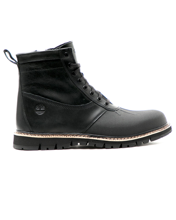 Britton Hill Rubber Toe Boot - Color: Black Full Grain | Black