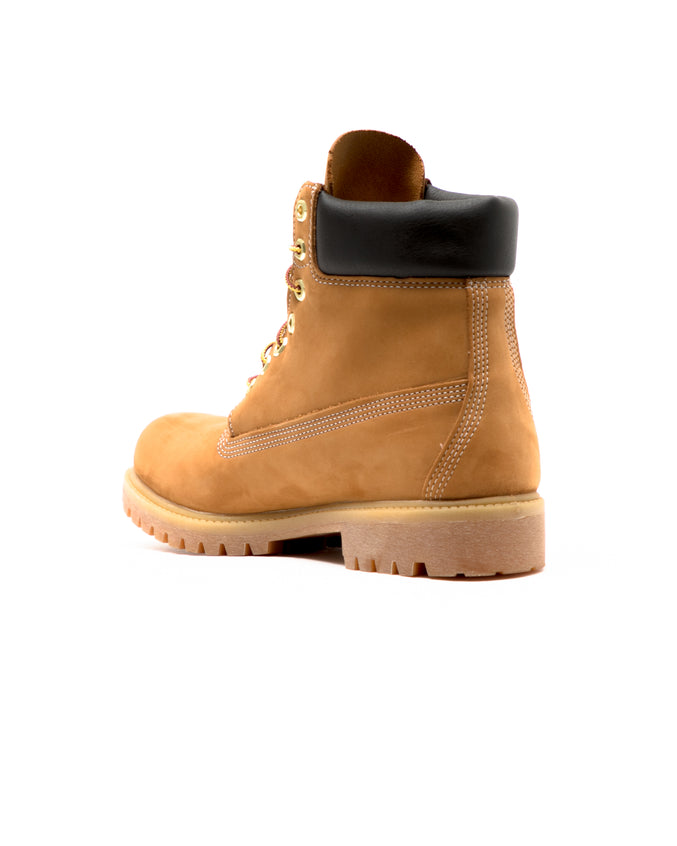Icon 6 Inch Premium Waterproof Boot - Color: Wheat Nubuck | Beige