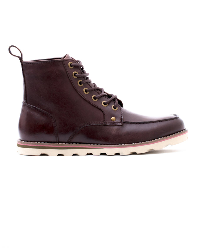 Moc Toe Boot - Color: Bark Leather | Brown