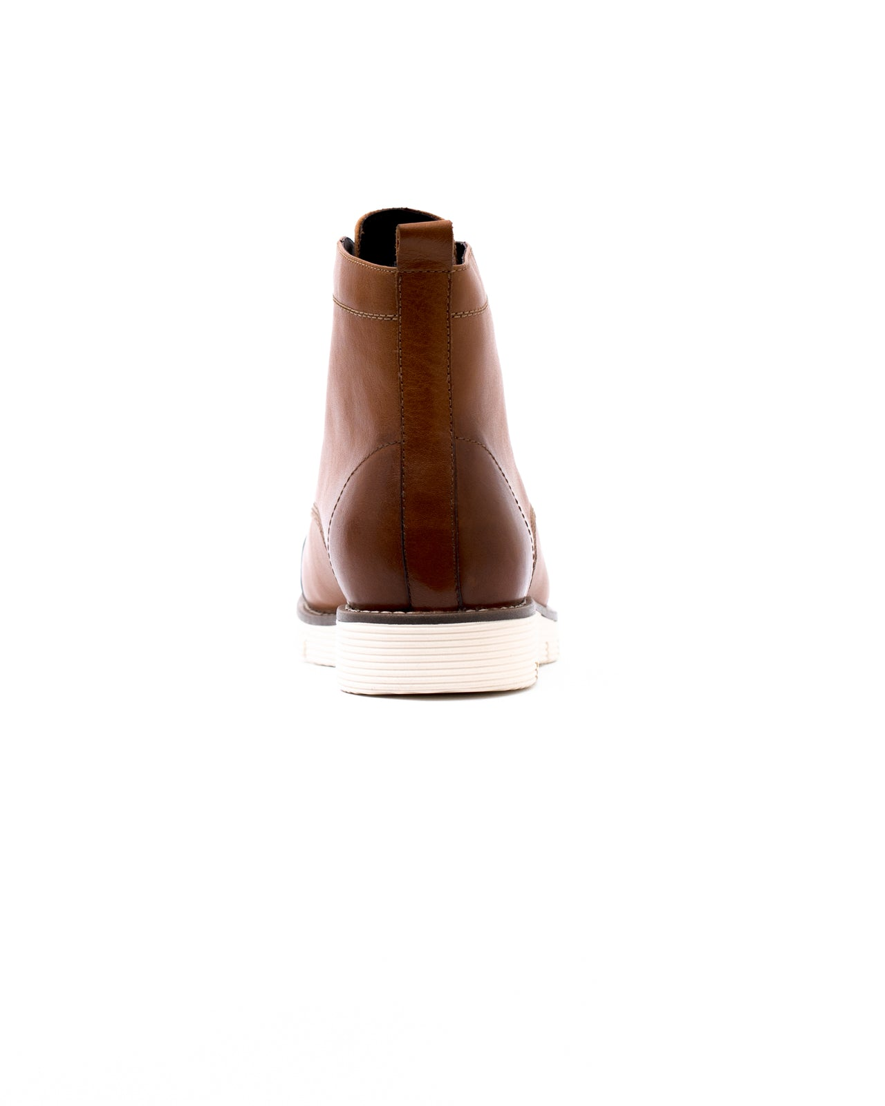 Cap Toe Boot - Color: Oak Leather | Brown