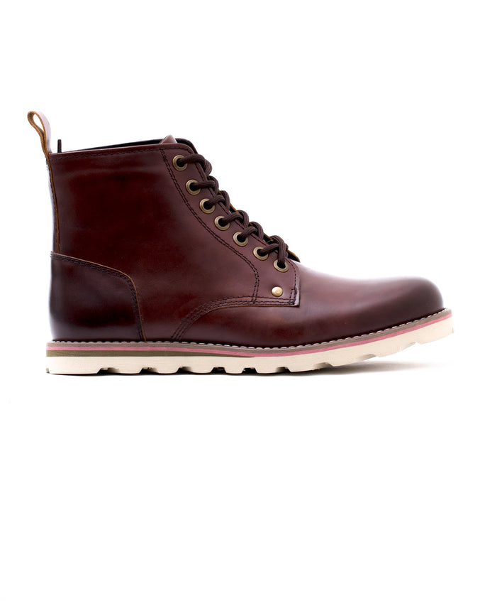Work Boot - Color: Chestnut Leather | Red