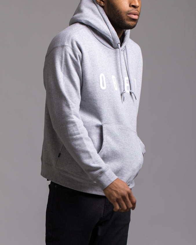 Anyway Hoodie - Color: Heather Grey/White | Gray