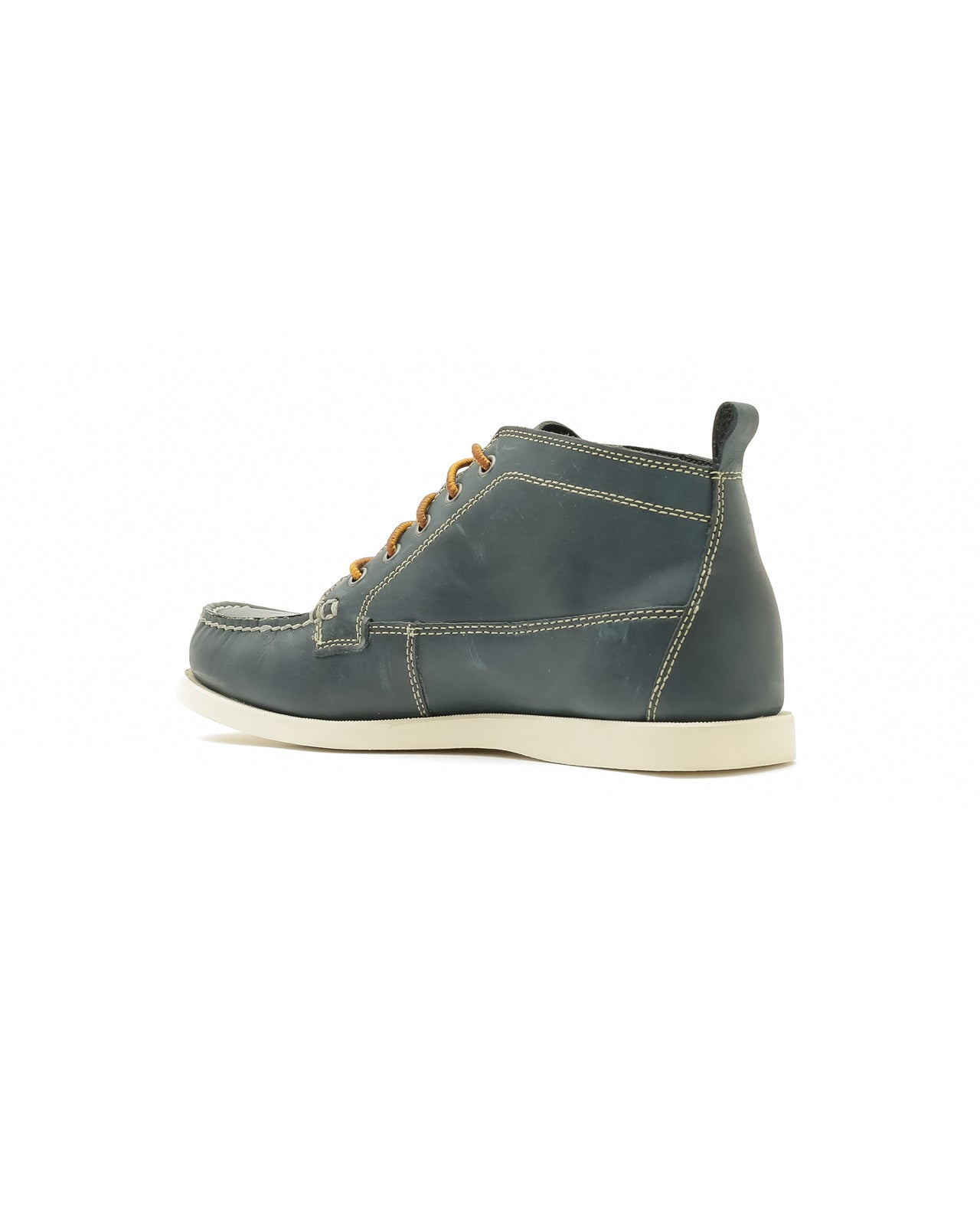 Seneca Chukka - Color: Navy Leather | Blue