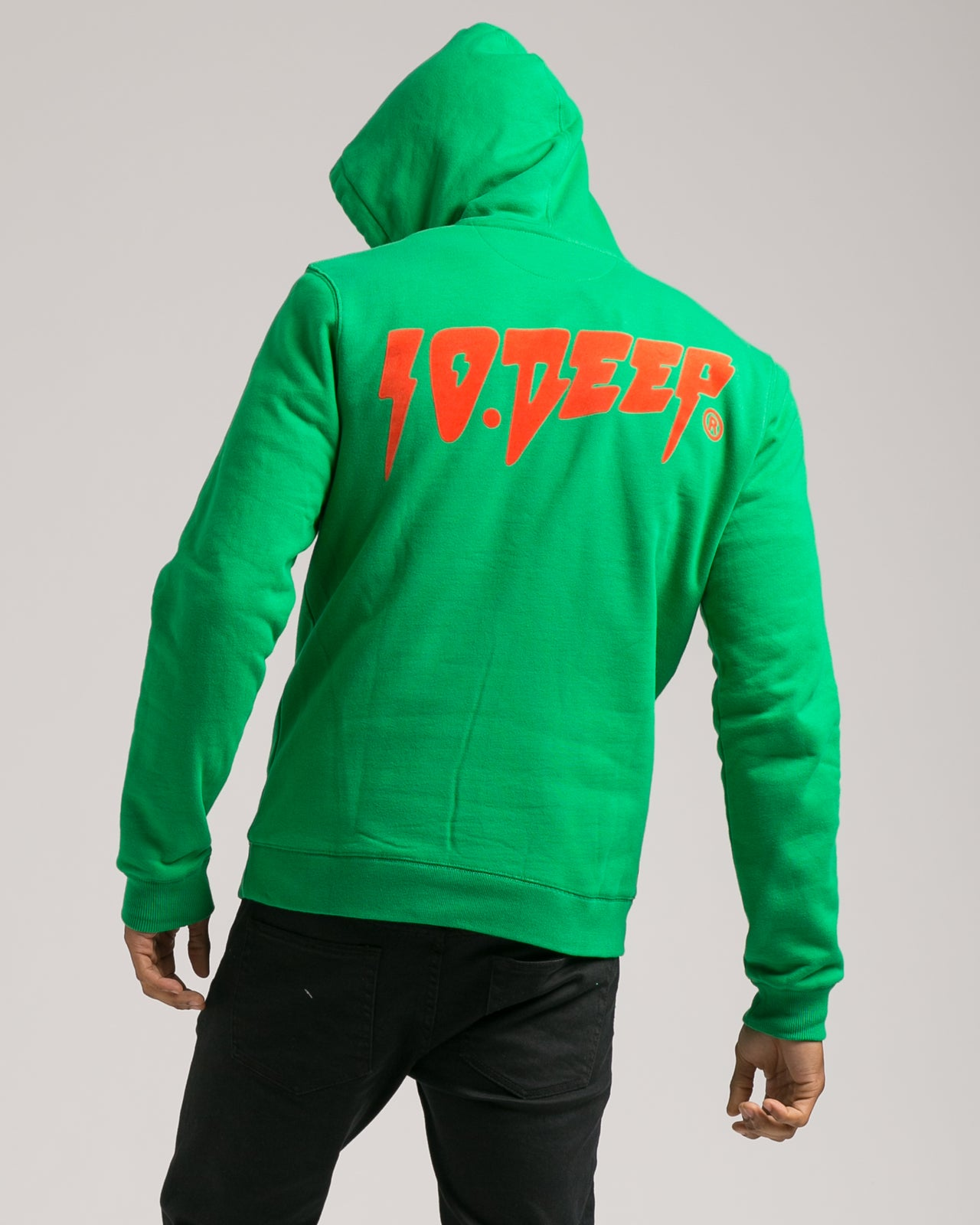 Sound and Fury Hoody - Color: Green | Green