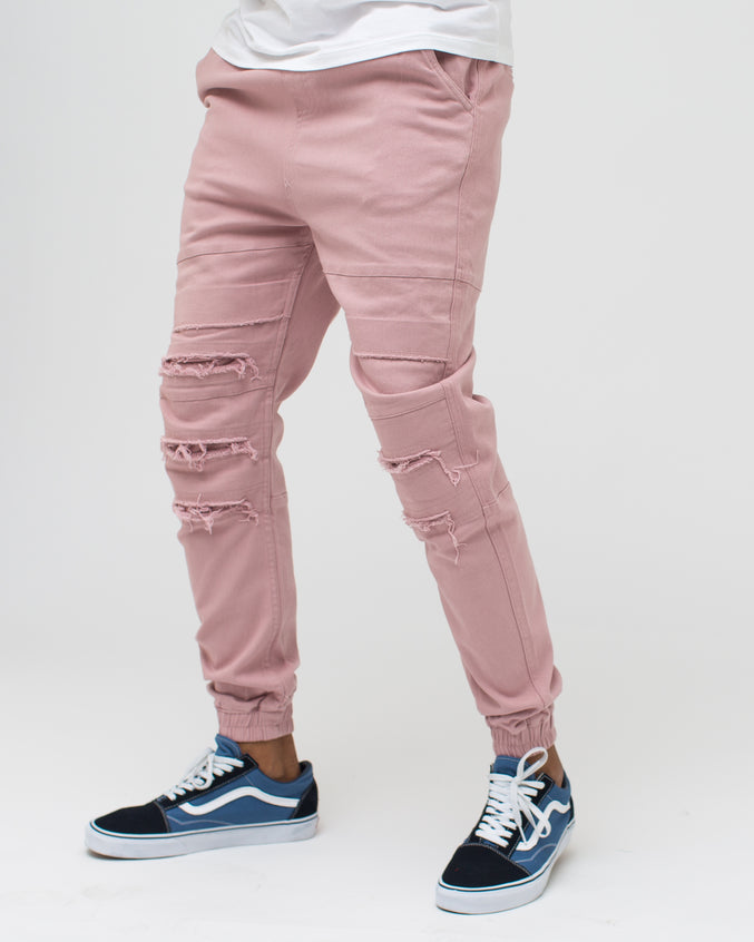 Shooter Jogger - Color: Pale Mauve | Pink