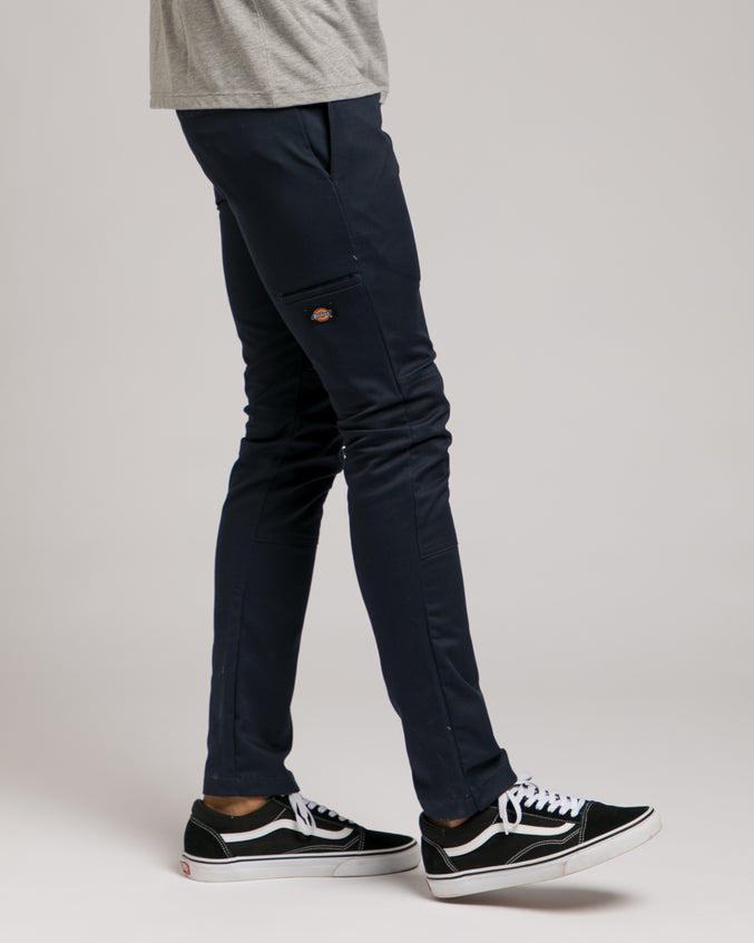 Double Knee Work Pant -Color: Dark Navy | Blue