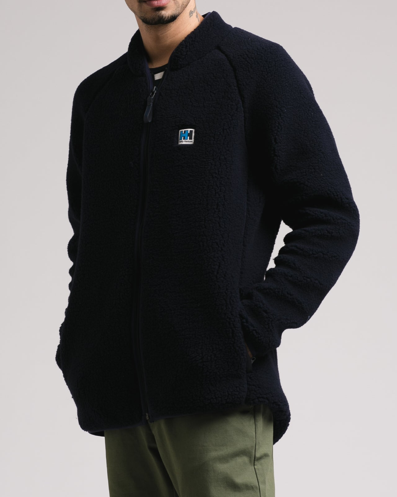 HH Pile Fleece - Color: Navy | Blue