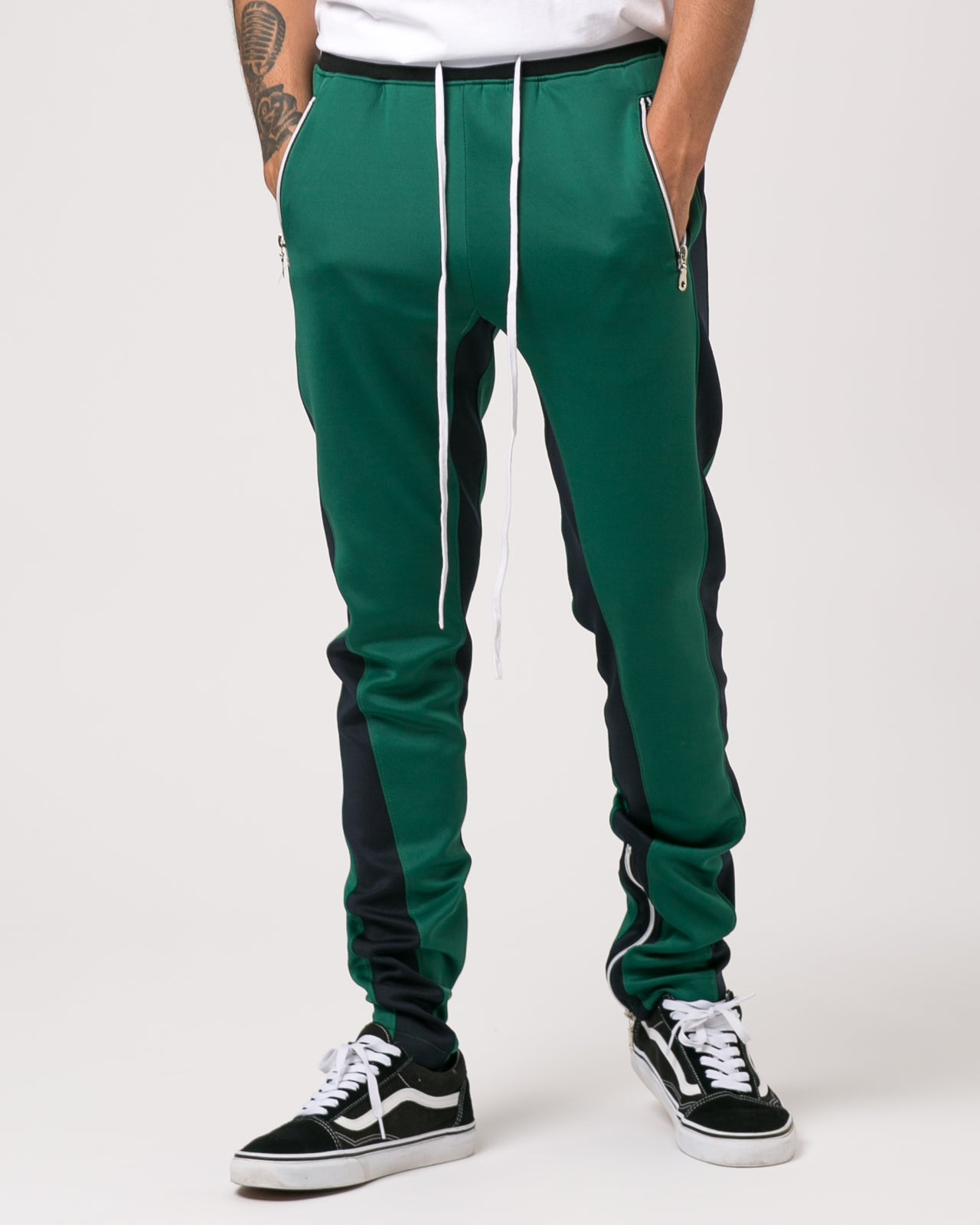 Track Pant - Color: Green/Navy | Green