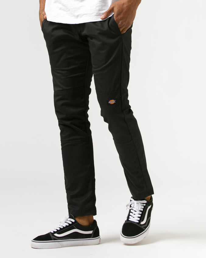 Double Knee Work Pant -Color: Black | Black