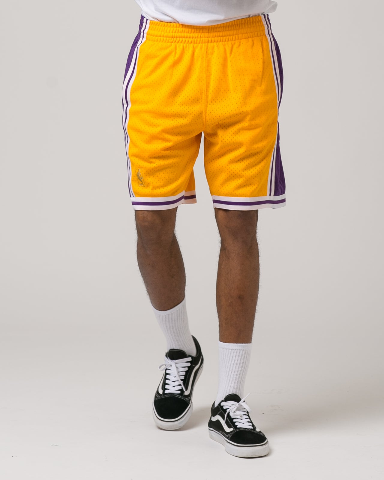 Los Angeles Lakers Swingman Shorts - Color: Yellow | Yellow