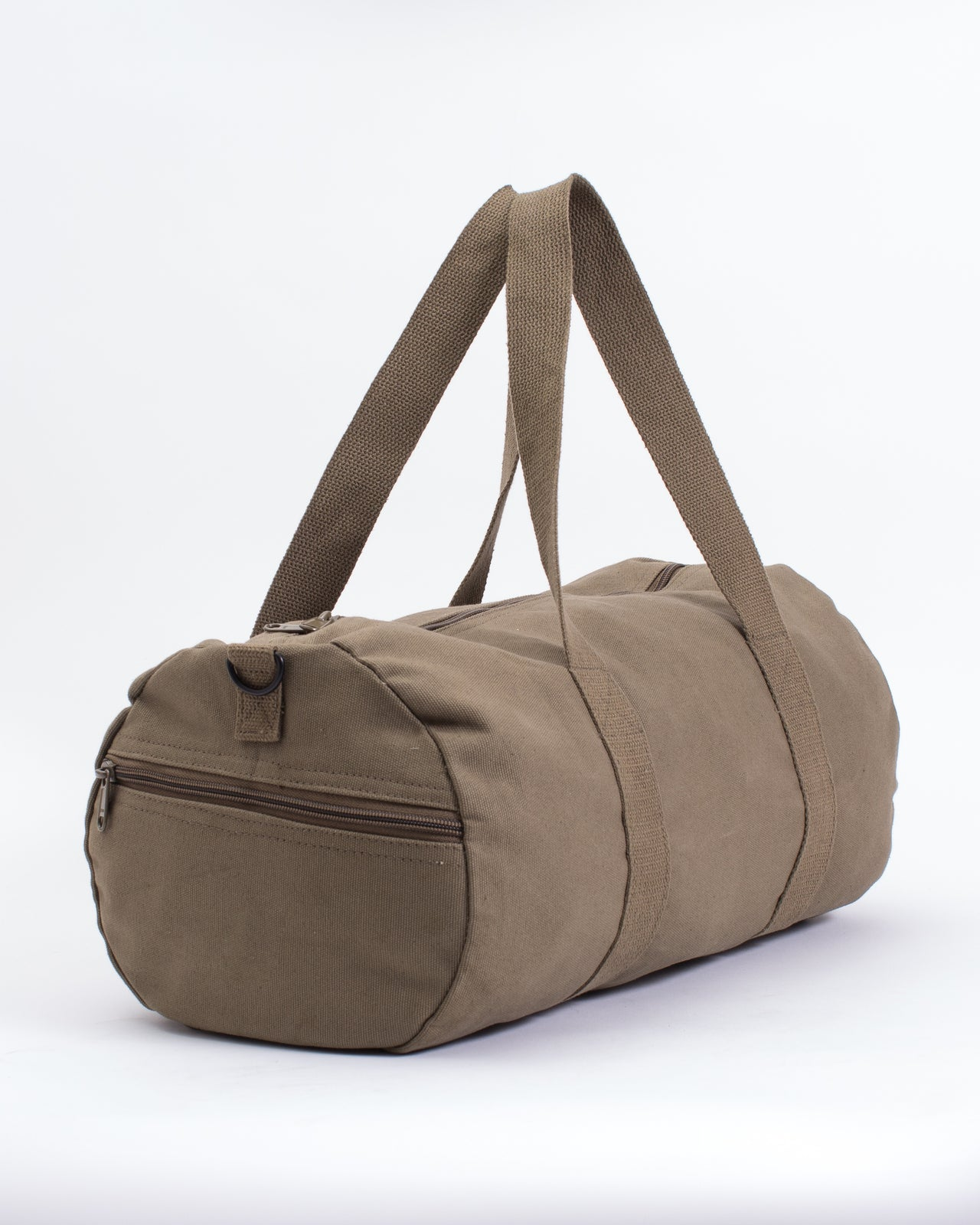 19 Inch Duffle Canvas Bag - Color: Olive Drab | Green