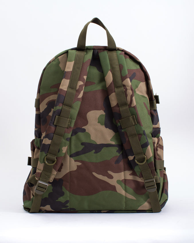 Woodland Camo Backpack - Color: Woodland | Multi