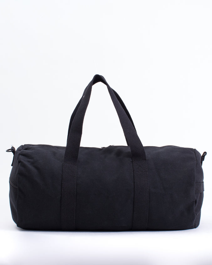 19 Inch Duffle Canvas Bag - Color: Black | Black